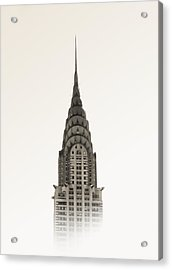 Chrysler Building - Nyc Acrylic Print by Nicklas Gustafsson