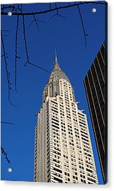 Chrysler Building Acrylic Print by Robert  Moss
