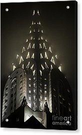 Chrysler Fog Lights Acrylic Print by Ray Warren