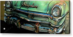Chrysler Smile Acrylic Print by Kathleen Bischoff
