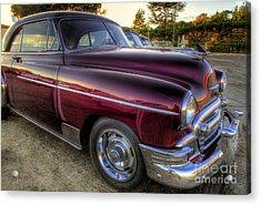 Chrysler's Deluxe Ride Acrylic Print