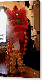 Chua Truc Lam One Man Dragon Acrylic Print by Shawn Lyte