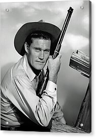 Chuck Connors - The Rifleman Acrylic Print