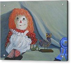 Chucky's First Love Acrylic Print by Scott Phillips