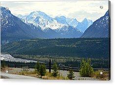 Chugach Mountains Acrylic Print