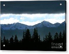 Chugach Mountains Acrylic Print by Crystal Magee