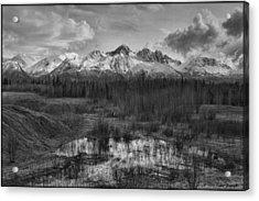 Chugach Mtn Range Acrylic Print