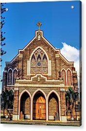 Acrylic Print featuring the photograph Church 1 by Dawn Eshelman