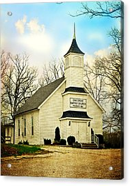 Acrylic Print featuring the photograph Church 12 by Marty Koch