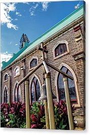 Acrylic Print featuring the photograph Church 5 by Dawn Eshelman