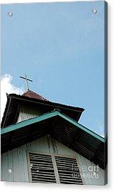 Church Acrylic Print by Antoni Halim
