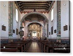 Church At Mission San Luis Rey Acrylic Print by Sandra Bronstein