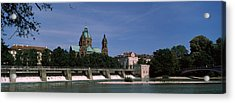 Church At The Riverside, St. Luke Acrylic Print by Panoramic Images