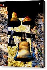 Church Bells Acrylic Print by Janine Riley
