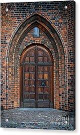 Church Door Acrylic Print by Antony McAulay