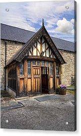 Church Entrance Acrylic Print by Ian Mitchell