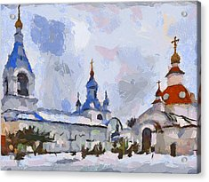 Church In Colours 3 Acrylic Print
