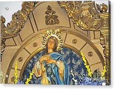 Church In Marbella Spain Acrylic Print