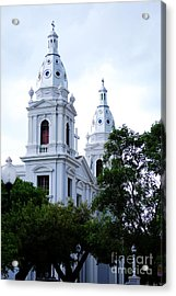 Church In Puerto Rico Acrylic Print