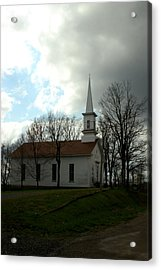 Church In The Country Acrylic Print