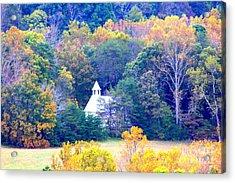 Church In The Glade Acrylic Print