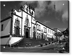 Church In Vila Franca Do Campo Acrylic Print by Gaspar Avila