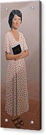 Church Lady Acrylic Print