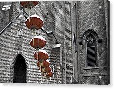 Church Lanterns Acrylic Print