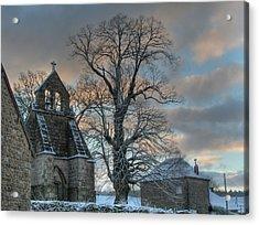 Church Acrylic Print by Lepercq Veronique