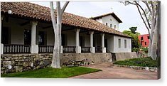 Church, Mission San Luis Obispo, San Acrylic Print by Panoramic Images