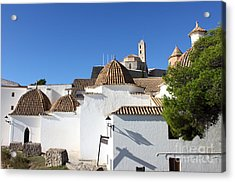 Church Of Santo Domingo In Ibiza Acrylic Print by Alessandro Russo