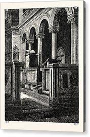 Church Of St. Clemente Acrylic Print