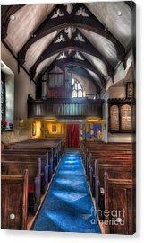 Church Of St Mary Acrylic Print by Adrian Evans