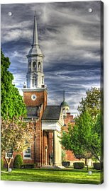 Church Of The Abiding Presence 1a - Lutheran Theological Seminary At Gettysburg Spring Acrylic Print