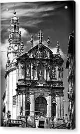 Church Of The Clergy Acrylic Print by John Rizzuto