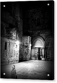 Church Of The Holy Sepulchre Acrylic Print by Amr Miqdadi