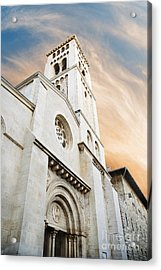 Church Of The Redeemer In Jerusalem Acrylic Print