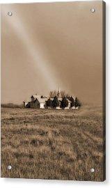 Church On The Prairie Acrylic Print