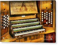 Church Organ Art Acrylic Print