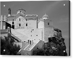 The Church Of Panagia Tou Pyrgou Acrylic Print