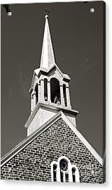 Church Steeple Acrylic Print by Sarah Mullin