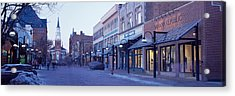 Church Street, Burlington Vermont, Usa Acrylic Print by Panoramic Images
