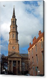 Church Street In Charleston Sc Acrylic Print by Suzanne Gaff