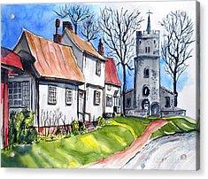 Church Street Acrylic Print