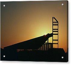 Church Structure At Sunrise Acrylic Print