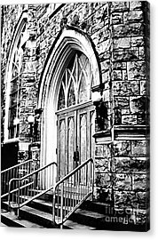 Church Timeless Appeal Acrylic Print by Janine Riley