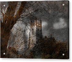 Church Tower Acrylic Print