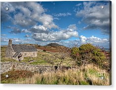 Church View Acrylic Print by Adrian Evans