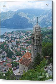 Church View - Kotor - Montenegro Acrylic Print