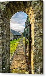 Church Way Acrylic Print by Adrian Evans